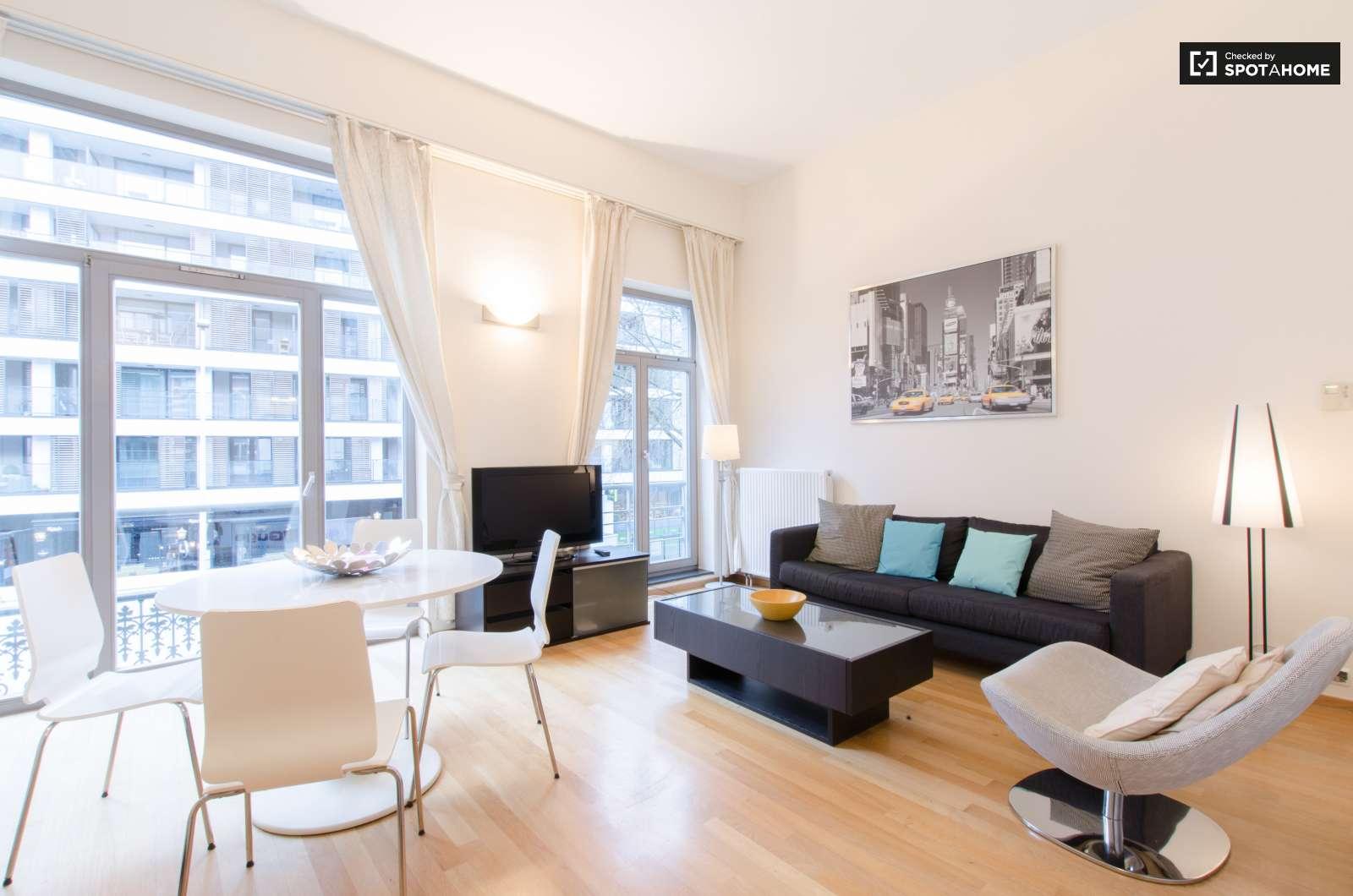 Appartement de 1 chambre louer avec balcon maelbeek bruxelles ref 124467 spotahome - Appartement 1 chambre a louer bruxelles ...