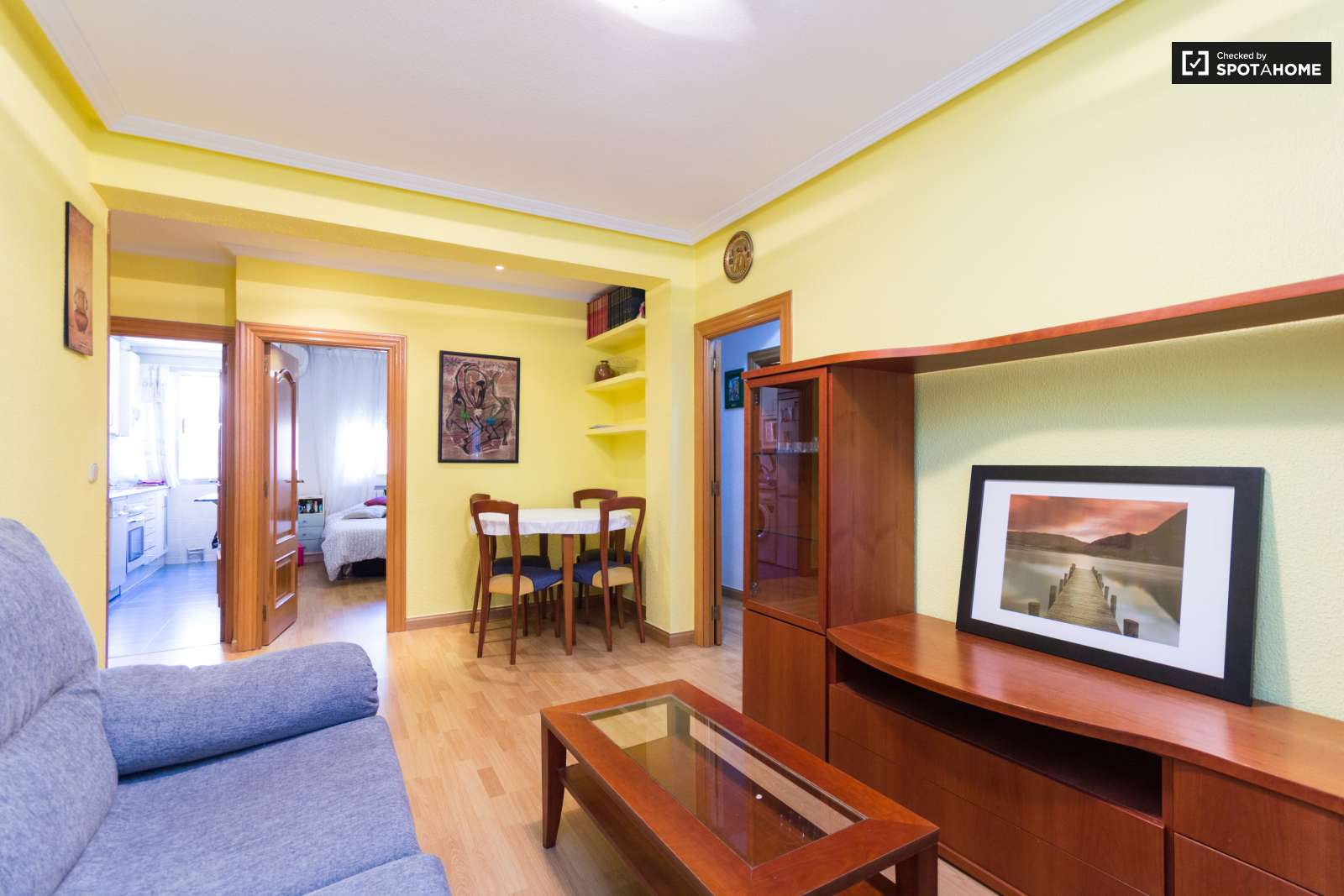 3 Bedroom Apartment With Heat And Ac In Moratalaz Madrid Ref  # Muebles Bizkaia Guenes