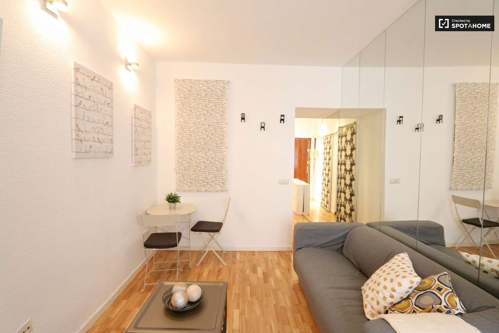 Modern 1 bedroom apartment for rent in almagro madrid ref 275319 spotahome
