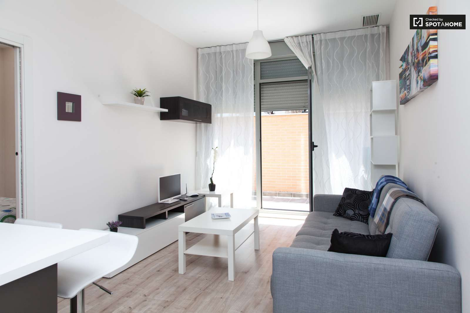 1-bedroom apartment for rent in Ciudad Lineal, Madrid (ref: 129628 ...