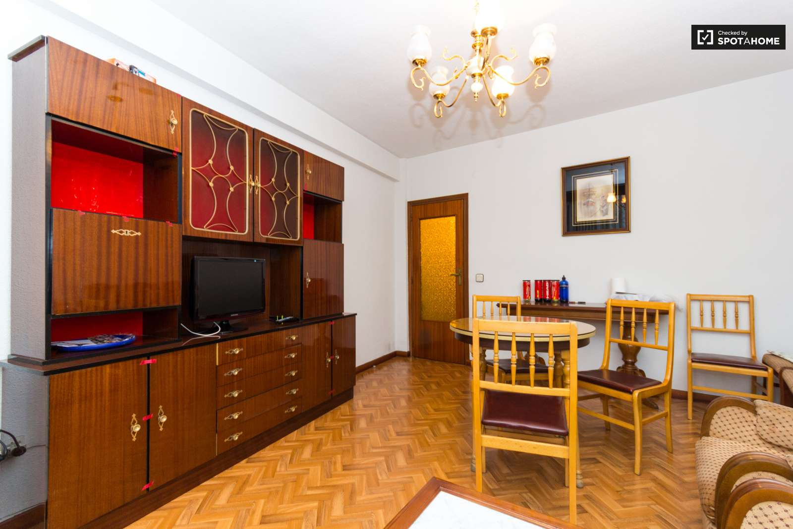 Rooms In Furnished 3 Bedroom Apartment Getafe Madrid