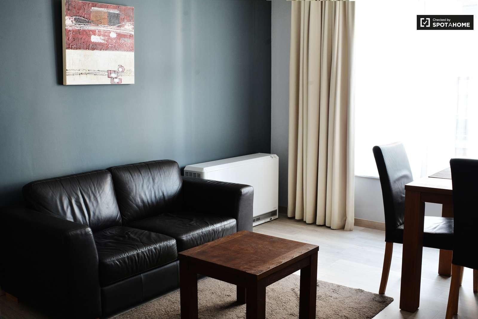 studio moderne louer bruxelles centre ref 96295 spotahome. Black Bedroom Furniture Sets. Home Design Ideas