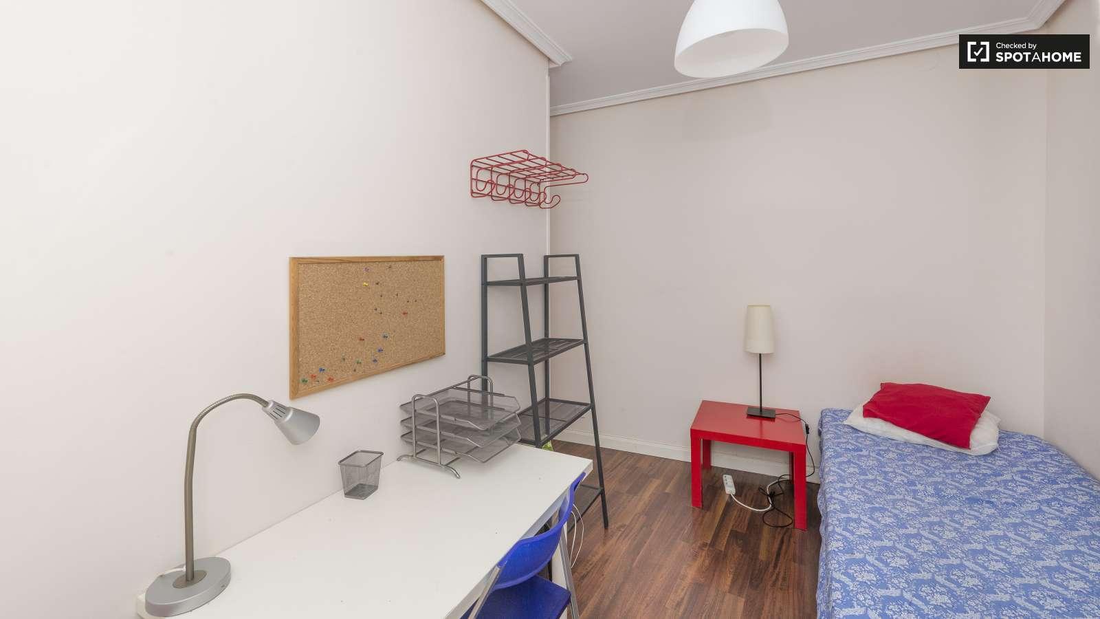 Acogedora habitaci n en piso compartido en delicias for Pisos en delicias madrid