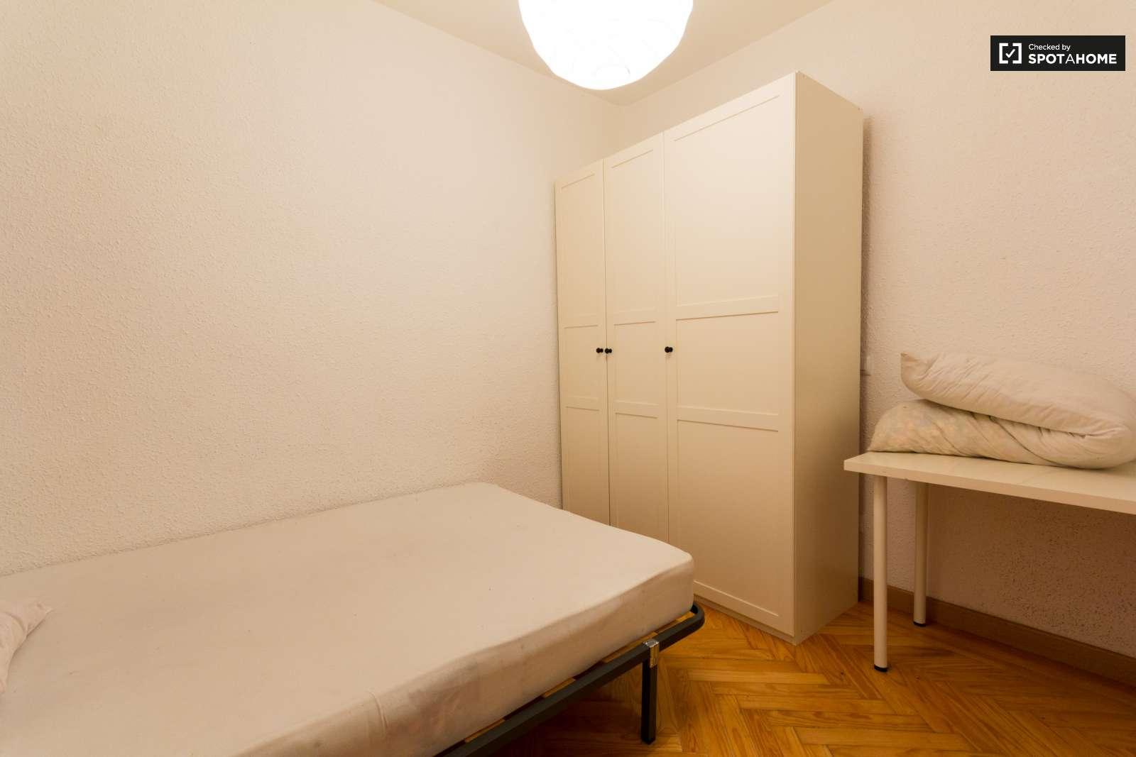 Tranquila habitaci n en piso compartido en chamber for Piso una habitacion madrid