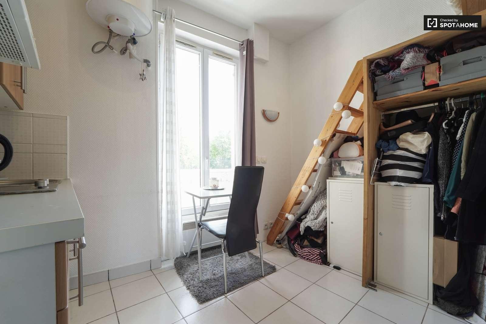 Studio Apartment With Mezzanine studio apartment for rent in 11th arrondissement, paris | spotahome