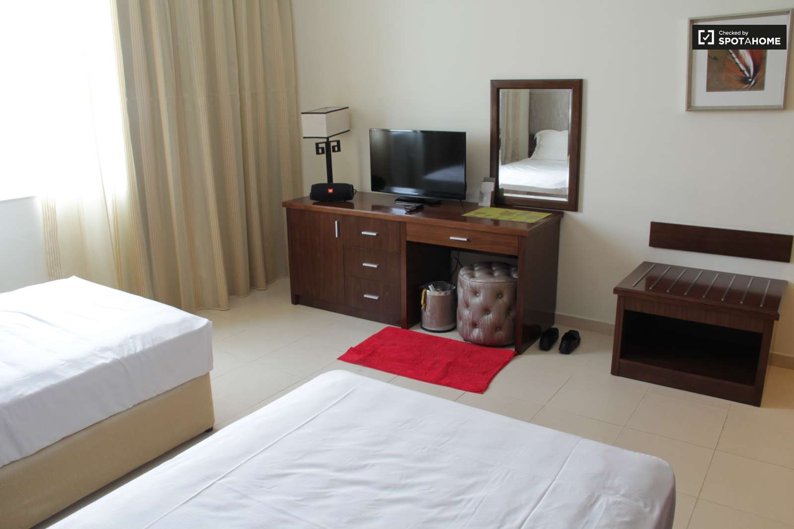 Bedroom 2. Decorated room in shared apartment in Al Barsha  Dubai  ref