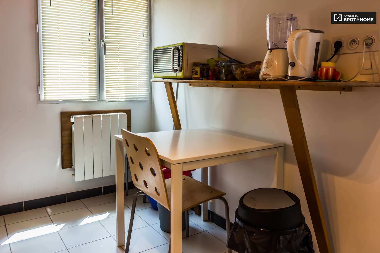 Studio Apartment With Mezzanine studio apartment with mezzanine for rent in parilly, lyon | spotahome