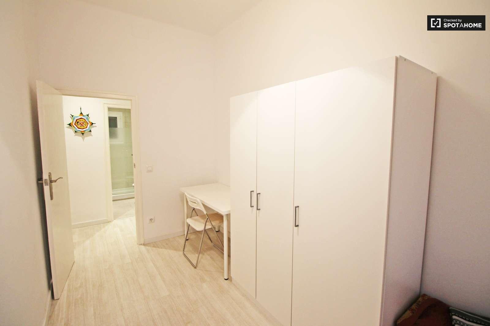 Habitaci n en alquiler en piso compartido de 2 for Piso 1 habitacion barcelona