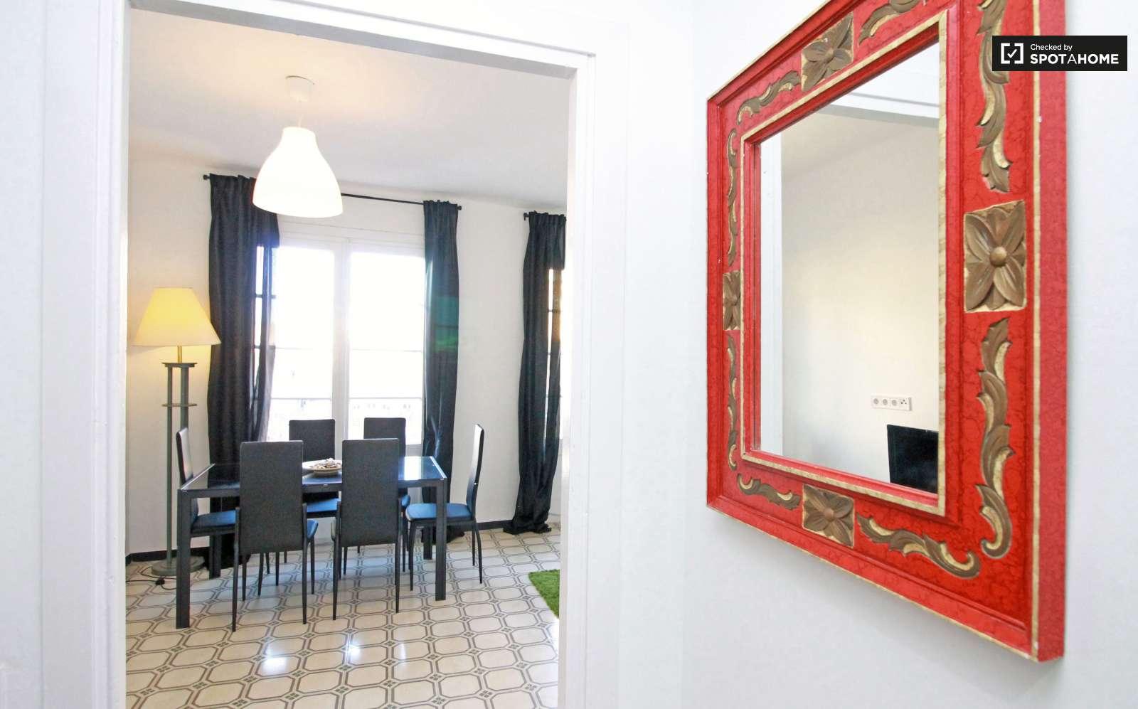 Stylish 2 Bedroom Apartment For Rent Poble Sec Barcelona Ref  # Muebles Poble Sec
