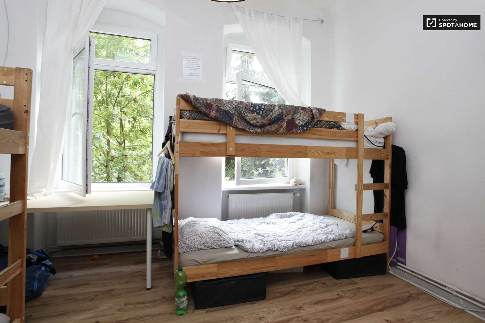 Bunk Beds In Beds For Rent In Shared Rooms In A 2 Bedroom Apartment In Treptow Kopenick Room For Rent Berlin