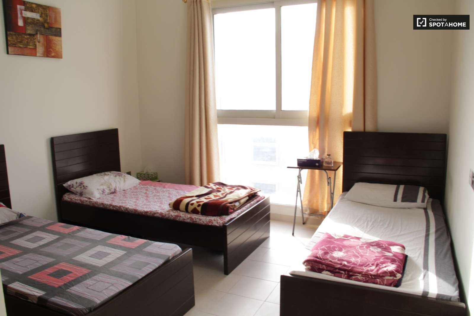 Single Bed Bedroom Rooms For Rent In Apartment With Pool In Al Barsha Dubai Spotahome