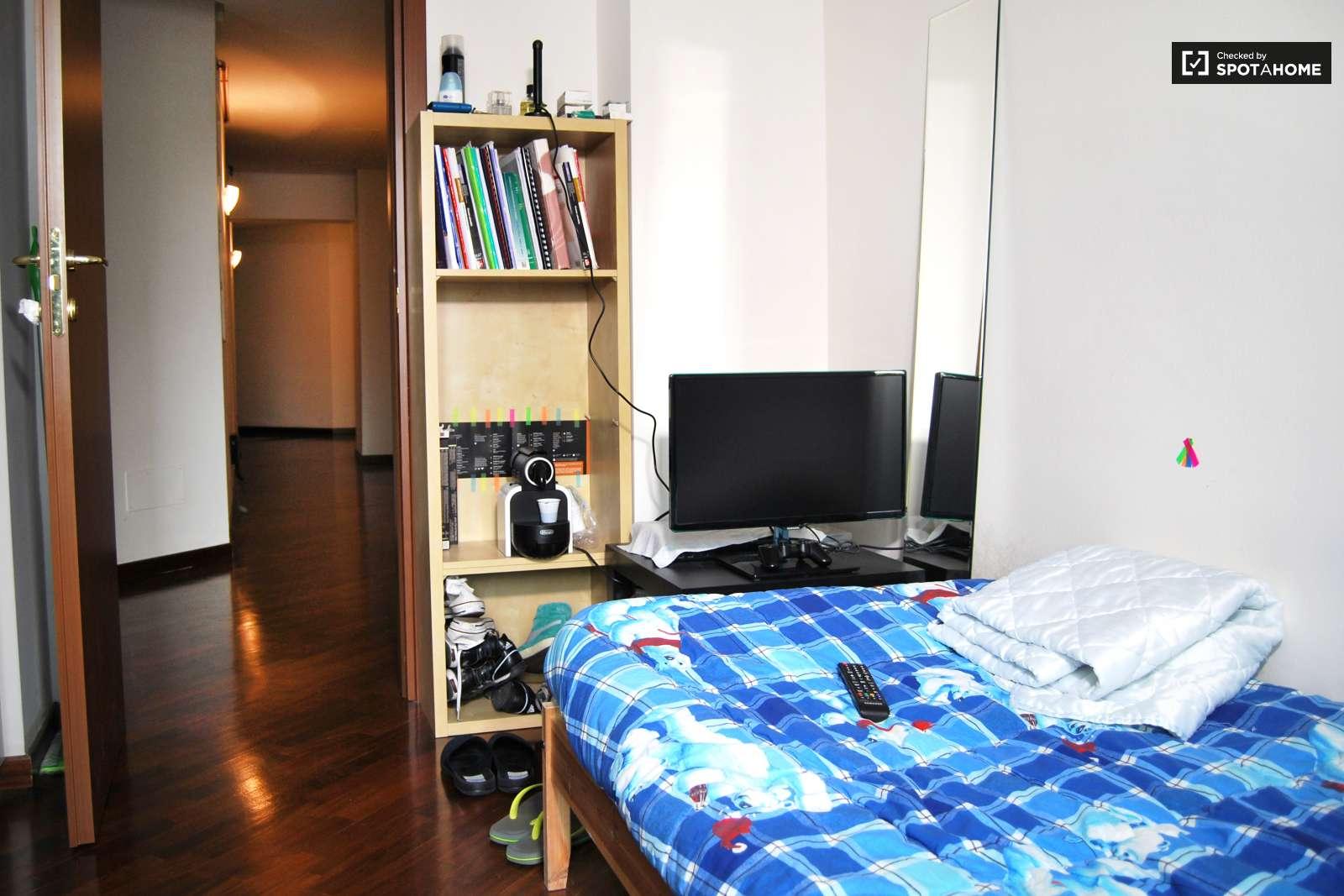 Single bedroom apartments - Bedroom 01 Single Bed