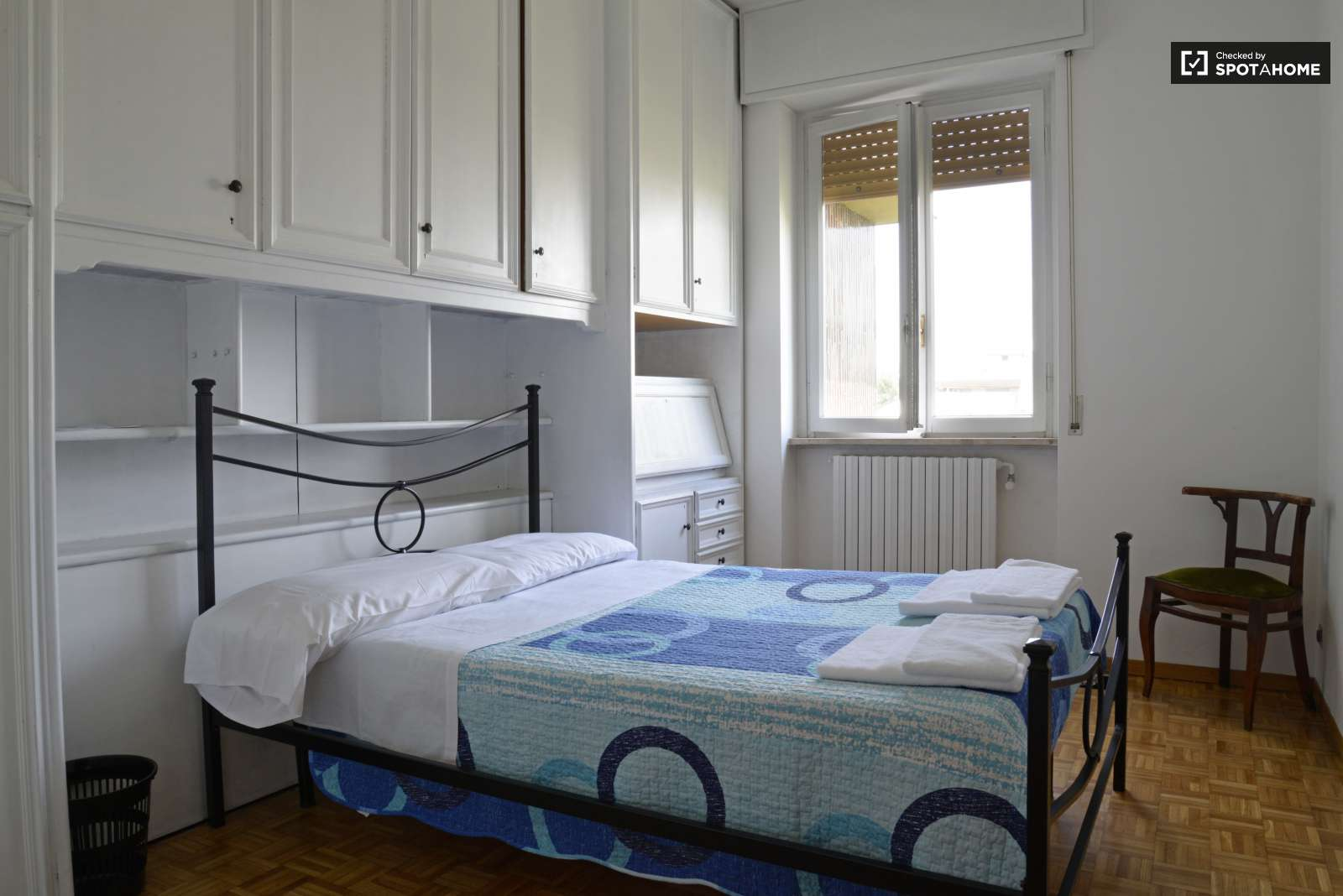 Minimum Bedroom Size For Double Bed Double Bed In Rooms For Rent In A 4 Bedroom Apartment Spotahome