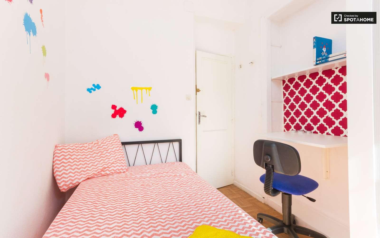 Dormitorio Latina ~ Habitación equipada en piso compartido en Latina, Madrid (ref 112622) Spotahome