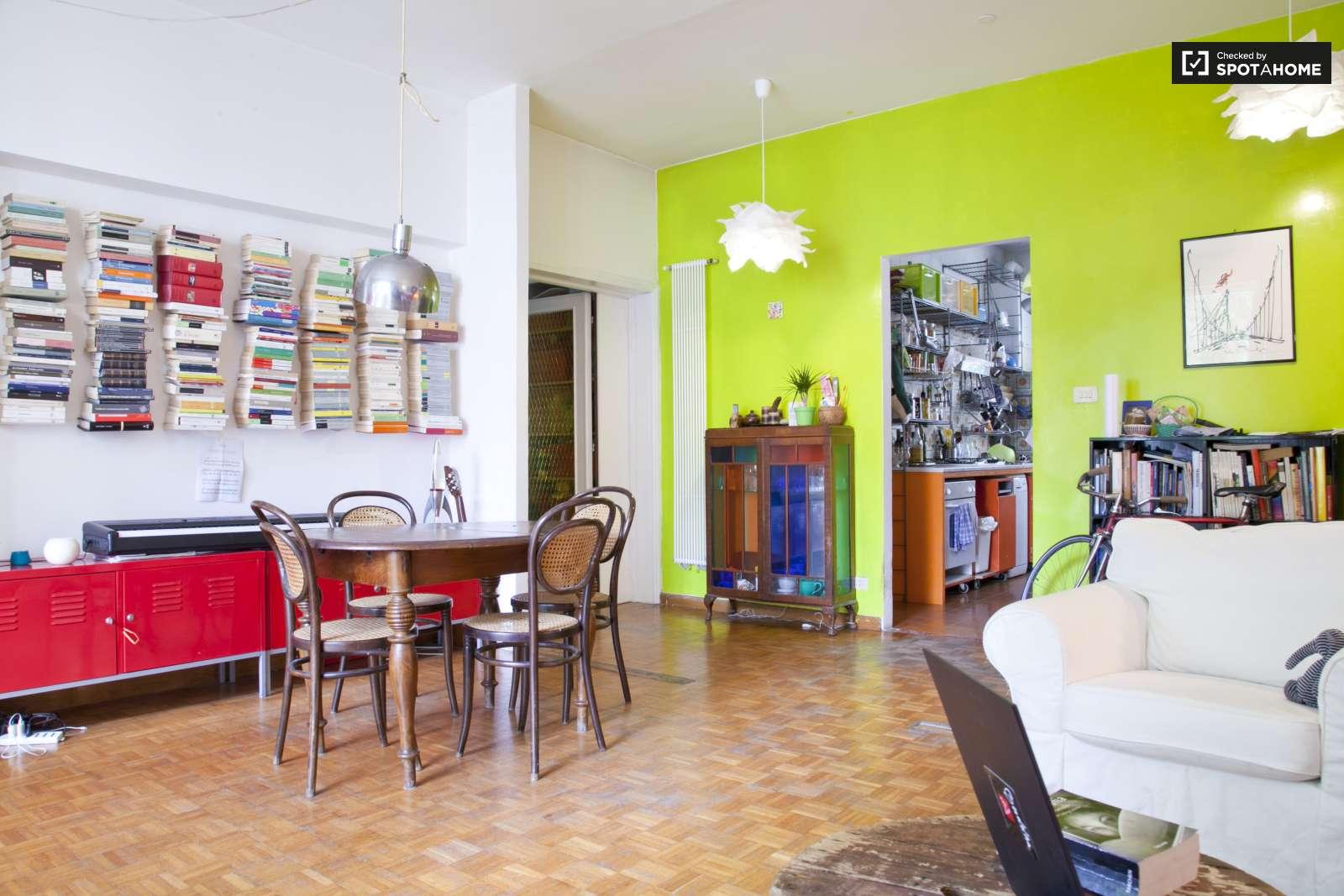 Stanza in affitto in un appartamento con 3 camere da letto parioli roma ref 113311 spotahome - Affitto appartamento bologna 3 camere da letto ...