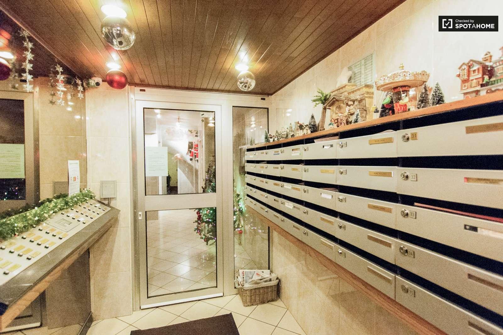 Grande chambre dans un appartement de 4 chambres jette for Chambre agriculture 13 cfe