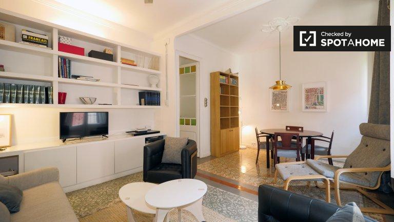 Pokój do wynajęcia, apartament z 4 sypialniami, Gràcia, Barcelona