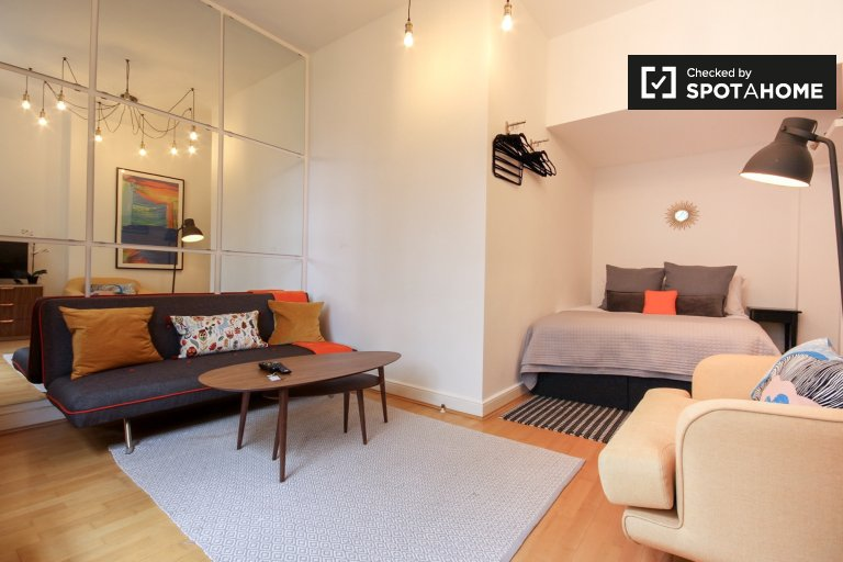 Modern studio apartment to rent in Kensington and Chelsea