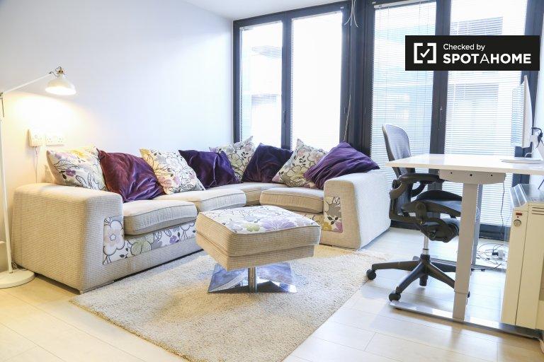 Apartamento de 1 dormitorio en alquiler en Grand Canal Dock, Dublín