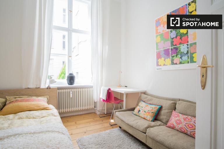 Colorido apartamento de 1 dormitorio en alquiler en Wilmersdorf Berlin