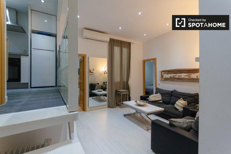 2-pokojowe mieszkanie do wynajęcia w Chueca, Madryt