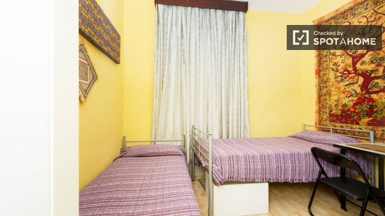 Furnished room in shared apartment in Guindalera, Madrid