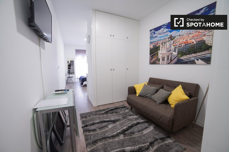 Cool studio apartment for rent in Lavapiés, Madrid