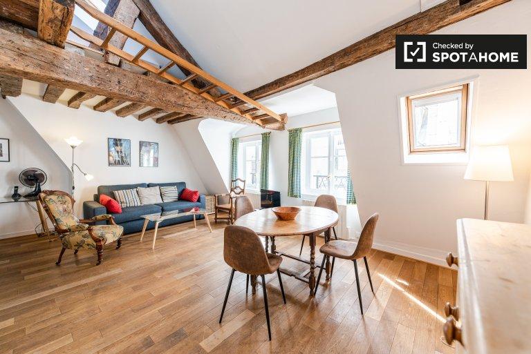 Appartement 2 chambres à louer à Paris 3