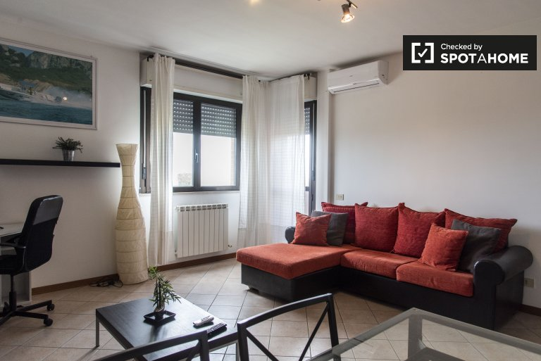 Lido di Ostia Ponente'de kiralık 1 yatak odalı daire