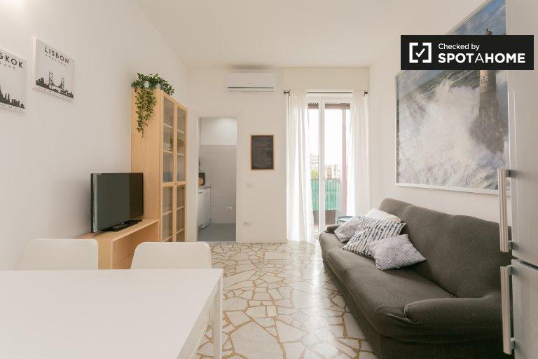 Elegante apartamento de 2 dormitorios en alquiler en Maciachini, Milán