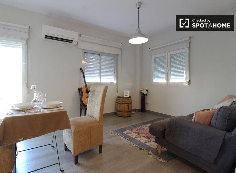 Elegancki 2-pokojowy apartament do wynajęcia w Hortaleza, Madryt