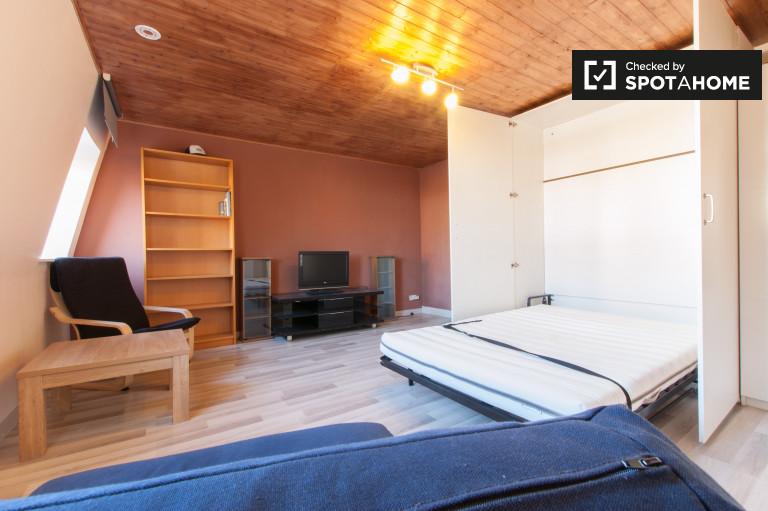 Amplio estudio de 1 dormitorio en alquiler en Etterbeek