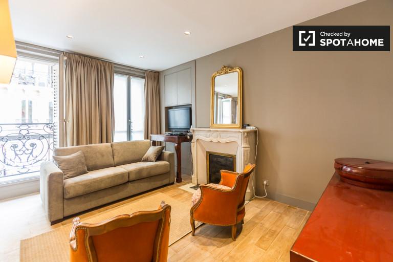 Elegancki 2-pokojowy apartament do wynajęcia w Montparnasse