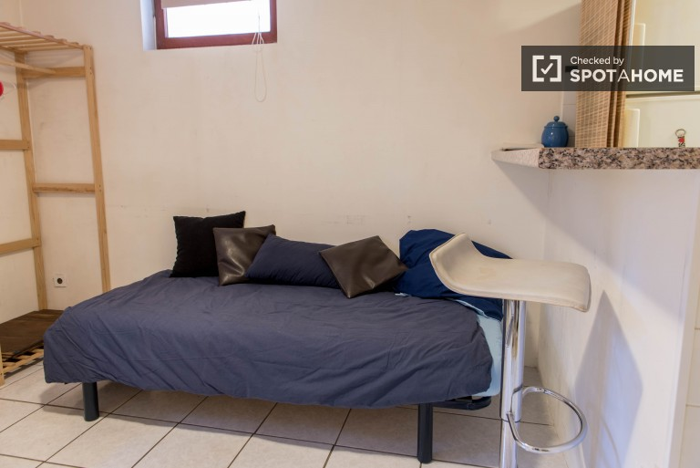 Pokój relaksacyjny w apartamencie z 2 sypialniami w Vanves w Paryżu