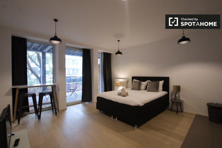 Apartament typu studio do wynajęcia w dzielnicy Leopolda w Brukseli