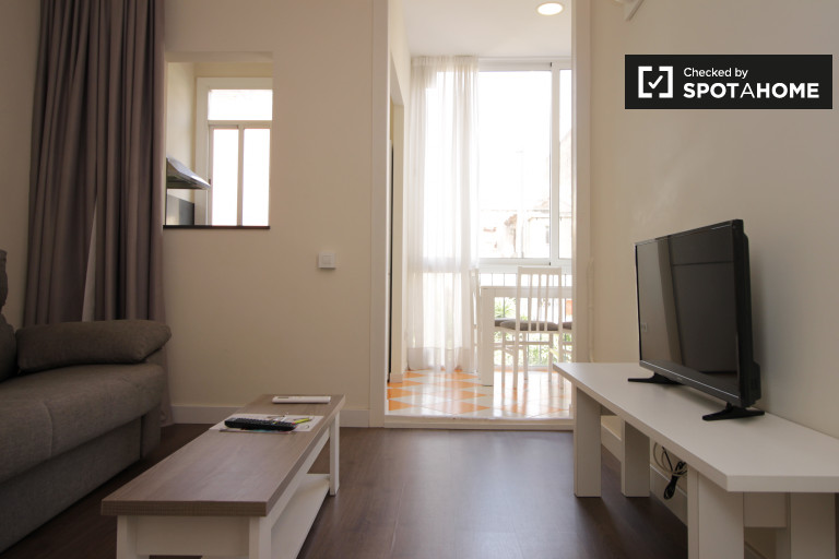 Modern 3-bedroom apartment for rent in Gràcia