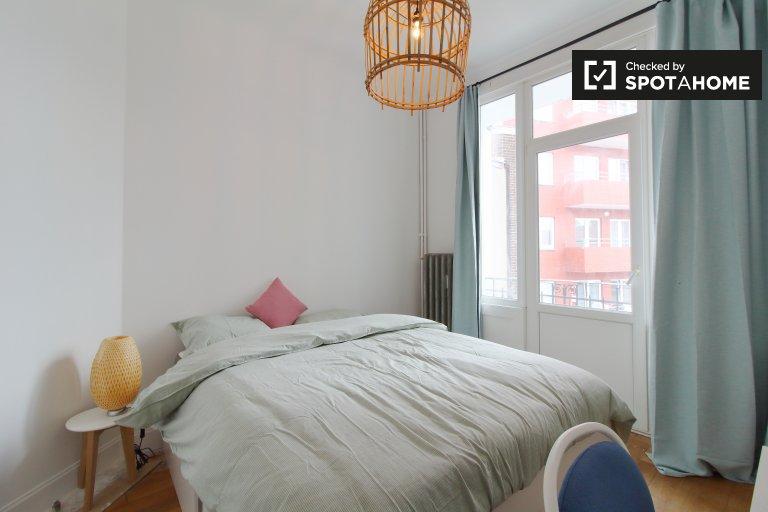 Doppelzimmer zu vermieten, 2-Zimmer-Wohnung, Molenbeek