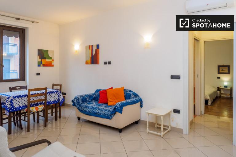 1-Zimmer-Wohnung mit Balkon zu vermieten, bande nere, Mailand