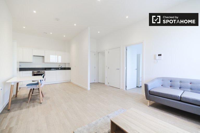 Przestronny apartament z jedną sypialnią do wynajęcia, Brentford, Londyn