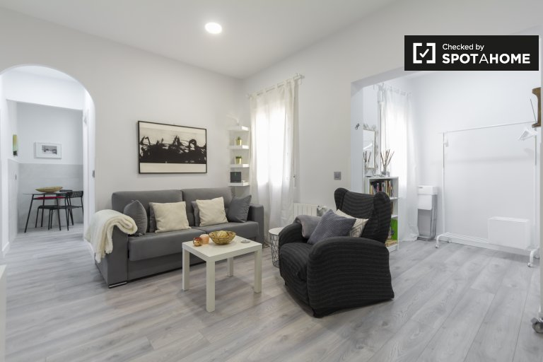 Modern 3-bedroom apartment for rent, La Latina, Madrid