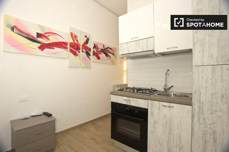 Lido di Ostia, Roma'da kiralık modern stüdyo daire