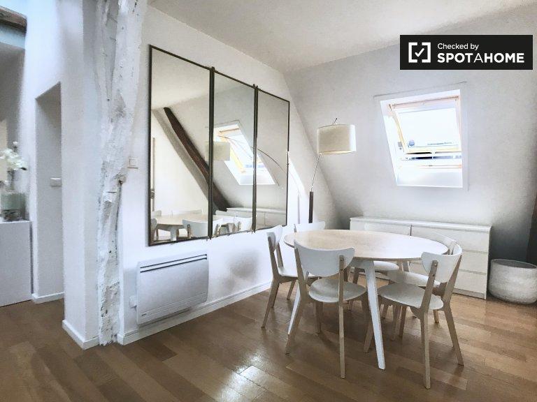 3-bedroom apartment for rent in 8th arrondissement, Paris