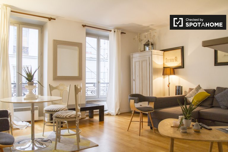 High Quality Airy 1 Bedroom Apartment For Rent Near Champ De Mars In 7th Arrondissement