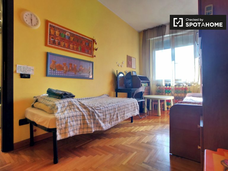 Charming room for rent in Musocco, Milan