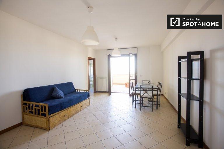 Appartement simple avec 2 chambres à louer à Tor Vergata, Rome
