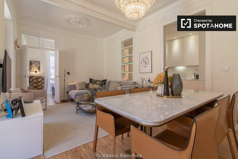 3 yatak odalı daire kiralık Principe Real, Lizbon
