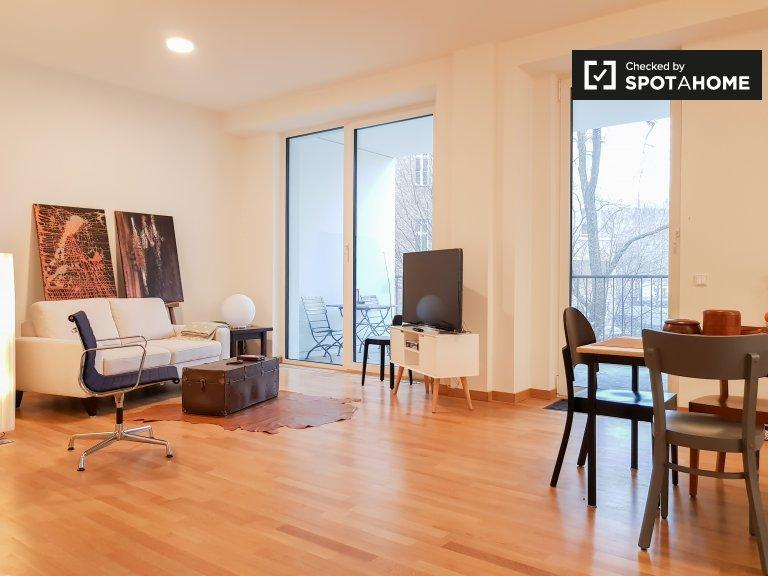 Gran apartamento con 2 habitaciones para alquilar en Wilmersdorf, Berlín