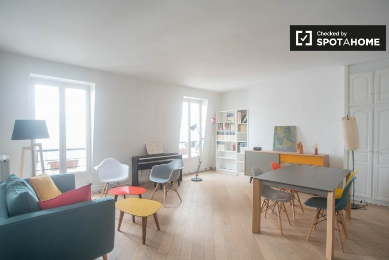Bright and quiet 1-bedroom apartment for rent in Saint-Georges