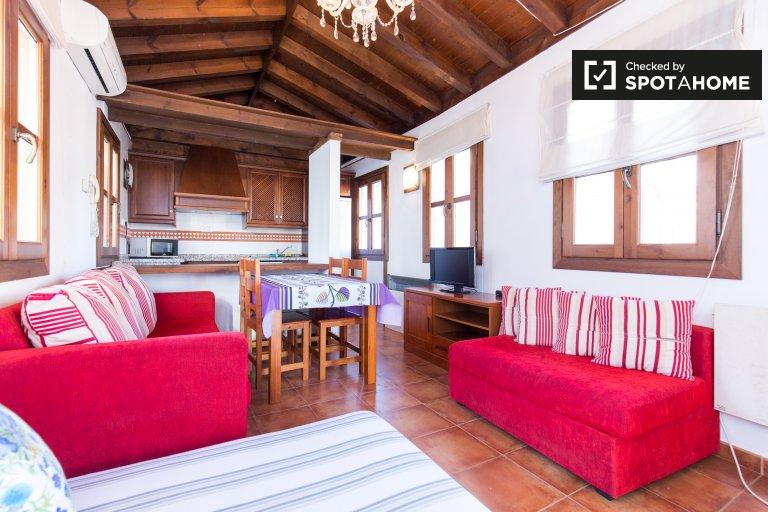 2-bedroom apartment for rent in Albaicín, Granada