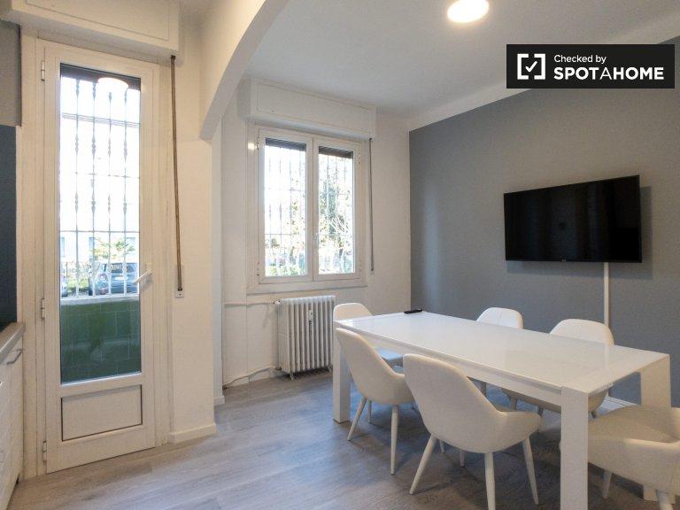 Apartamento de 3 dormitorios en alquiler en QT8, Milán